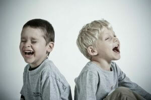 Social Skills-two boys laughing
