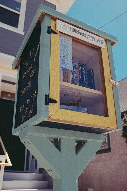 Neighborhood library box