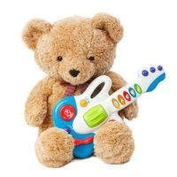 Musical Instruments for Toddlers- bear with a guitar