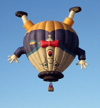 humpty dumpty (nursery rhyme) hot air balloon