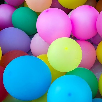 Home Activities for Kids- balloons