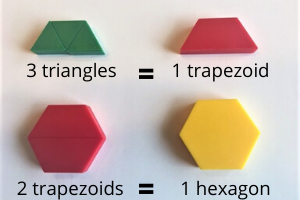 things to do with shapes for kids- compose/decompose