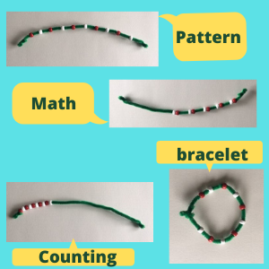 31 Remarkably Creative Activities for Kids- beads and pipecleaners