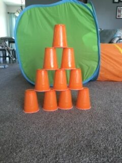 31 Remarkably Creative Activities for Kids- cup tower