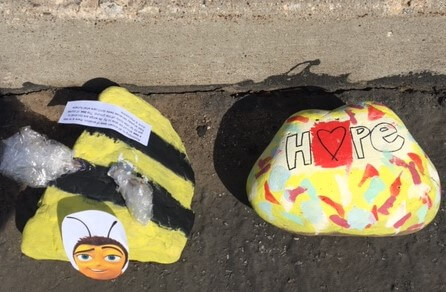 31 Remarkably Creative Activities For Kids- painted rocks