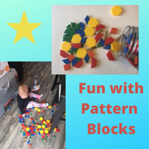 things to do with shapes for kids- pattern blocks