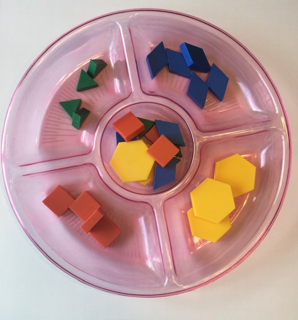 things to do with shapes for kids- sorting shapes