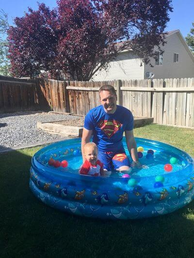 water toys for kids- inflatable pool