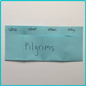how to create graphic organizers- 4 folds
