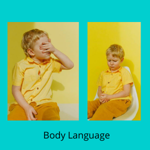 how to develop communication skills in toddlers- body language