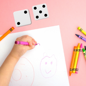 teaching kids about body parts- drawing