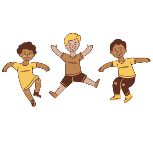 teaching kids about body parts- movement